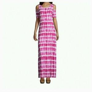 Dresses & Skirts - Cold shoulder dress size Small
